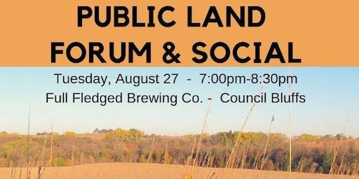 Southwest Iowa Public Land Forum & Social