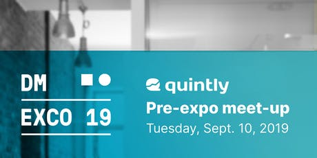 DMEXCO | Pre-expo meet-up at quintly Tickets