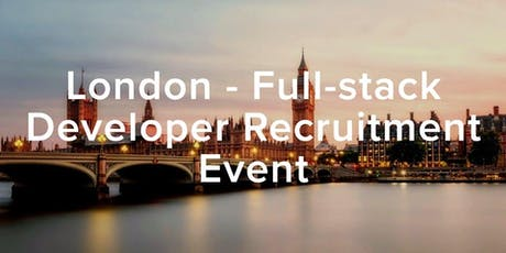 HiredEvents - London (Full-stack Developer Recruitment) August 29th tickets