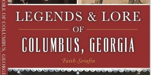 Legends & Lore by Faith Serafin - Talk & Book Signing