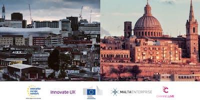 Malta UK ICT Meetings - Incoming company mission to Birmingham