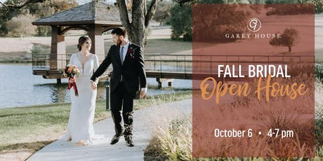 Fall Bridal Open House tickets