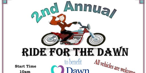 RIDE FOR THE DAWN to benefit Dawn Center of Hernando County