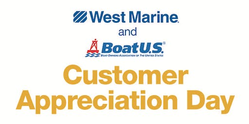 West Marine Plymouth Presents Customer Appreciation Day!