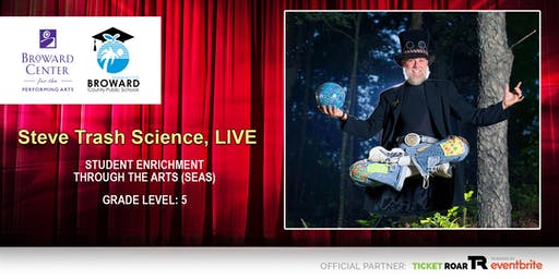 Steve Trash Science, LIVE!