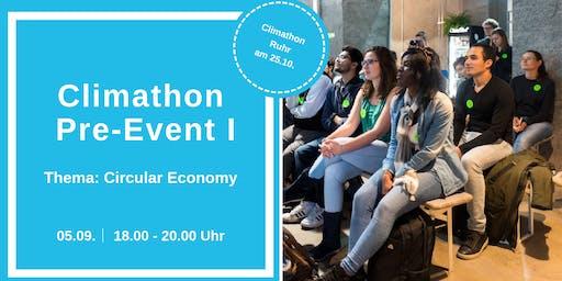 Climathon Pre-Event I – Thema: Was ist Circular Economy?
