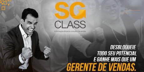 [FORTALEZA] Curso oficial do consultor de vendas - SG Class  ingressos