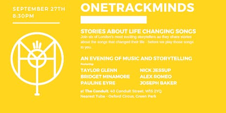 OneTrackMinds at The Speakeasy tickets