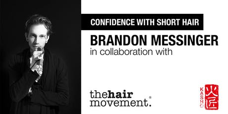 Confidence with Short Hair - A Creative Day with Brandon Messinger tickets