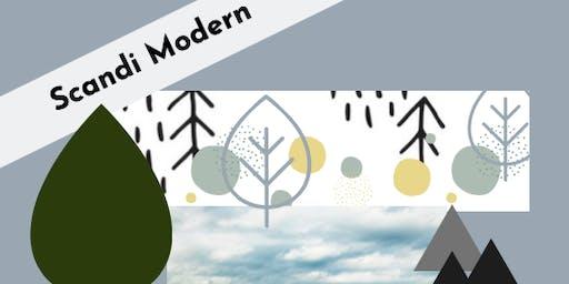 Scandi Modern Art Camp (Afternoon only)