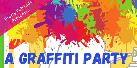 "Pretty Fab Kids presents ""A Graffiti Party""! tickets"