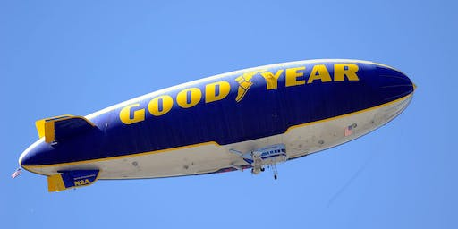Goodyear Blimp Airship Base in Suffield
