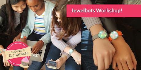 Coding & Cupcakes | October | Jewelbots Workshop tickets