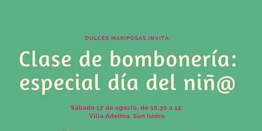 Clase De Bombonería: Especial Día Del Niñ@