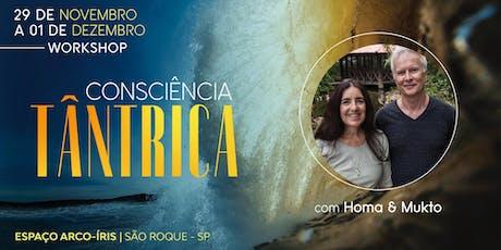 Workshop Consciência Tântrica com Homa & Mukto ingressos