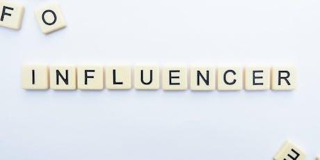 Morning seminar: Influencer Marketing tickets