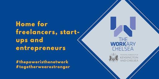 Freelancers, Startups + Entrepreneurs in Chelsea ☕