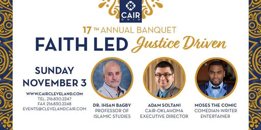 CAIR-Cleveland 17th Annual Civil Rights Banquet & Fundraiser