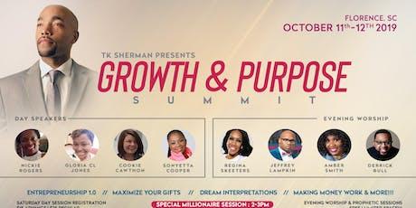 2nd Growth & Purpose Summit tickets