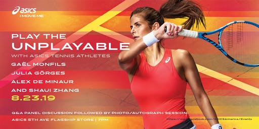 Play the Unplayable with ASICS Tennis Athletes