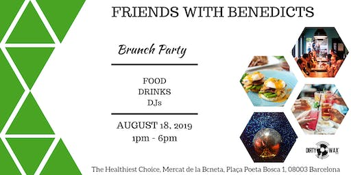 Friends with Benedicts Brunch Party
