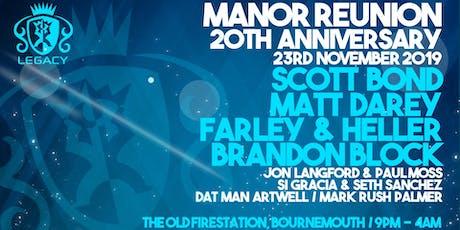 Manor Reunion tickets