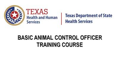 DSHS Basic Animal Control Officer Training - Arlington