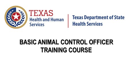 DSHS Basic Animal Control Officer Training - Arlington tickets