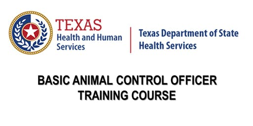 DSHS Basic Animal Control Officer Training - Arlington