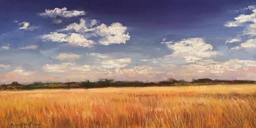 Pastels Workshop with Wine: Autumn Texas Sky
