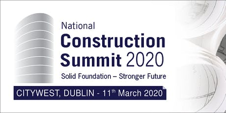 Construction Summit 2020 tickets