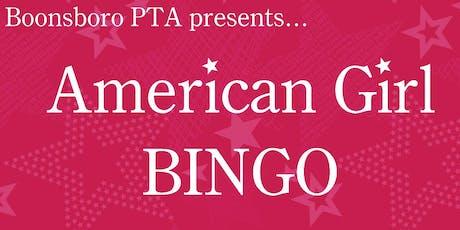 American Girl Doll Bingo & Lunch tickets