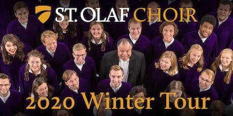 St. Olaf Choir tickets