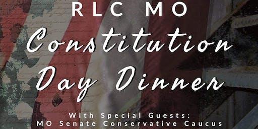 Missouri Republican Liberty Caucus Constitution Day Dinner