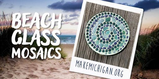 Beach Glass Mosaics - Paw Paw