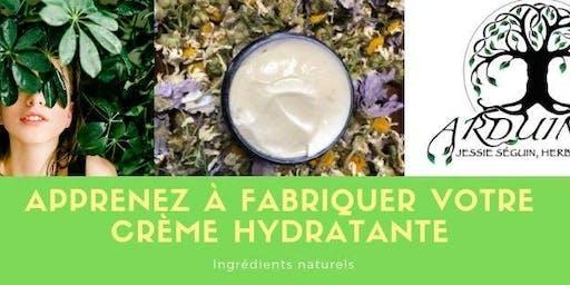 Atelier de fabrication Crème pour le visage