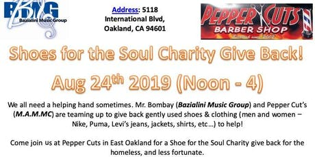 Shoes for the Soul Charity Give Back! tickets