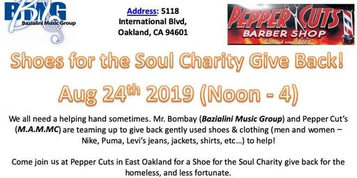 Shoes for the Soul Charity Give Back!
