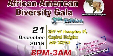 AFRICAN AMERICAN DIASPORA GALA - 3RD EDITION - DMV tickets