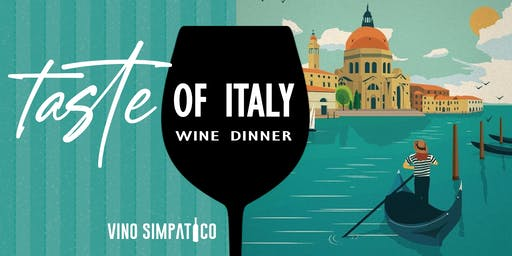 TASTE OF ITALY WINE DINNER