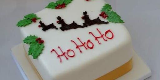 Decorating A Fruit Cake