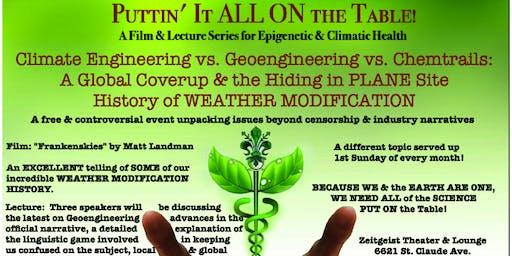 Climate Engineering vs. Geoengineering: Global Coverup Hiding in PLANE Site