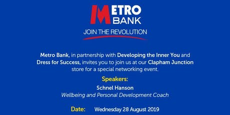 Metro Bank & Developing the Inner You tickets