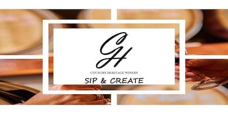 Sip, Paint, & Create tickets