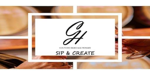 Sip, Paint, & Create