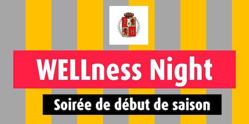 Wellness Night - soirée  de début de la saison