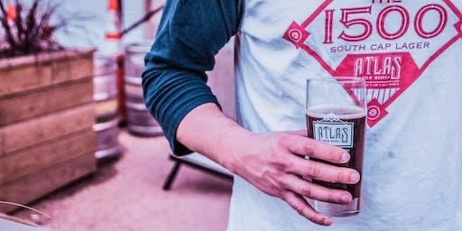 Singles Happy Hour ❤️ Atlas Brew Works | FREE beer | ages 30-45