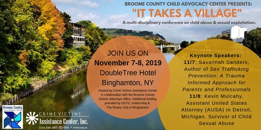 """Broome County CAC Presents: """"It Takes a Village"""""""