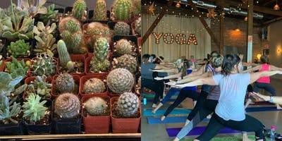 Yoga, Wine & Flower Time
