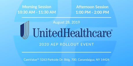 UnitedHealthcare 2020 AEP Rollout Event tickets